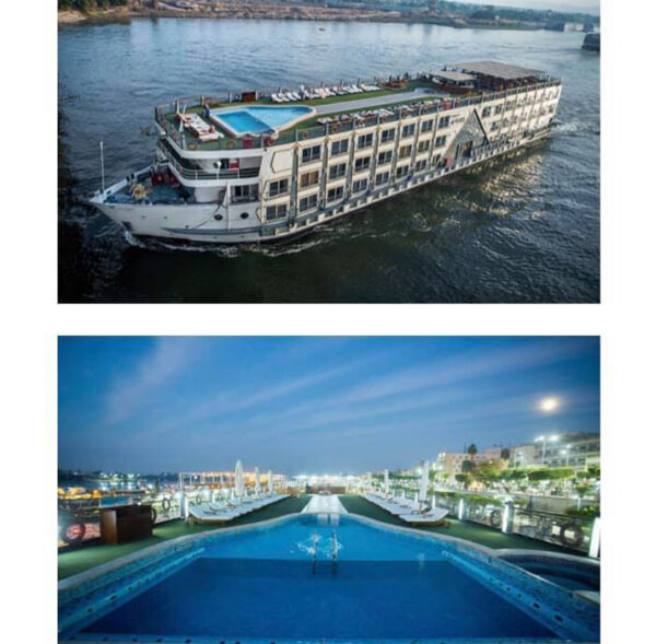 Kites Nile Cruise for Tourism and Hotel Investment
