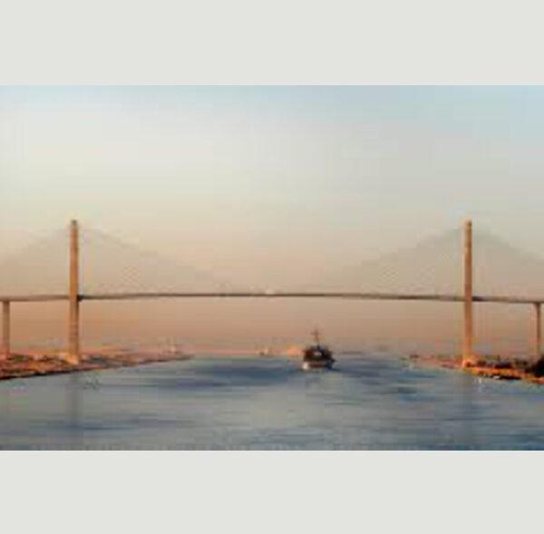 Suez Canal Cable Stayed Bridge